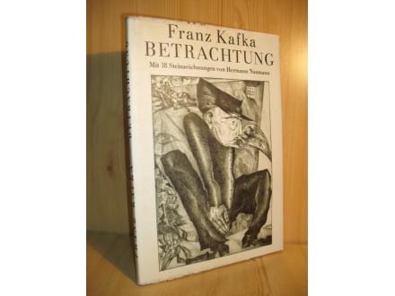 Betrachtung - Franz Kafka