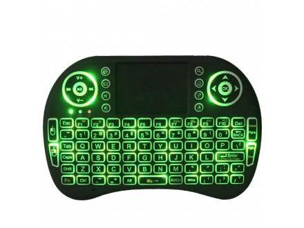 Bežična Punjiva Mini Tastatura Sa Osvetljenjem, Novo