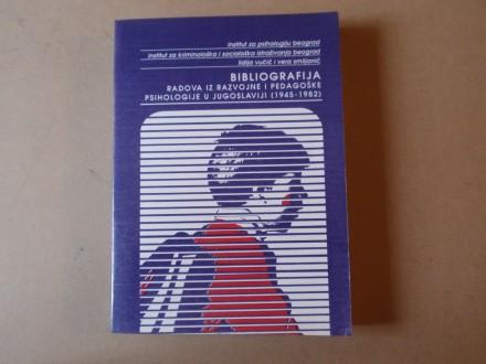 Bibliografija radova razvojne i pedagoške psihologije