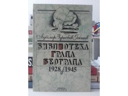 Biblioteka grada Beograda 1928-1945 - Durković Jakšić