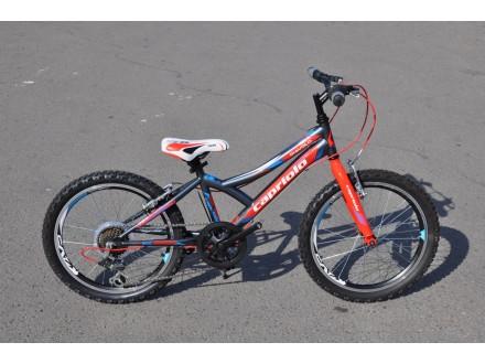 Bicikl Capriolo Diavolo 200 deciji MTB grafit crveno pl