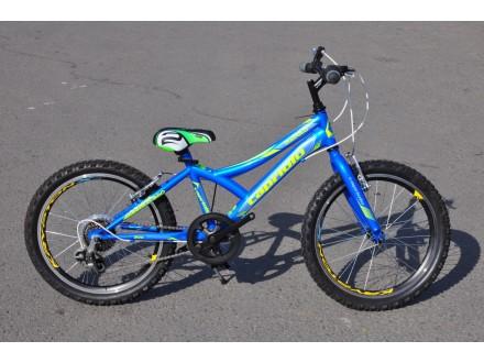 Bicikl Capriolo Diavolo 200 plavi za decake sa brzinama