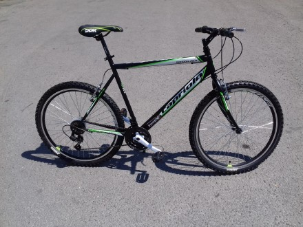 Bicikl MTB muski Capriolo Passion 26`` tocak crno zelen
