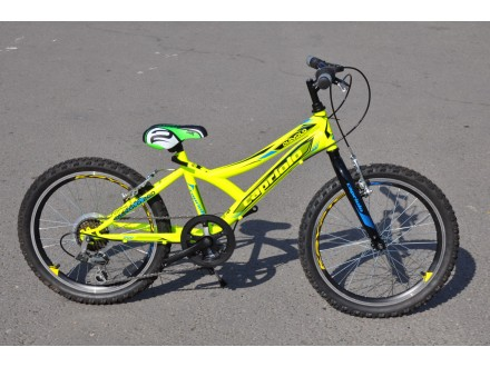 Bicikl deciji Capriolo Diavolo 200 u zutoj boji Shimano