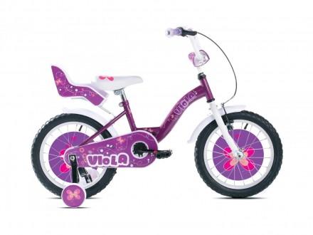 Bicikl deciji Capriolo Viola 16`` ljubicasti