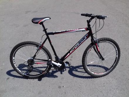 Bicikl muski MTB Capriolo Passion crno crveni 26` tocak