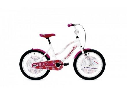 Bicikl za decu Capriolo Viola 20`` tocak belo-ljubicast