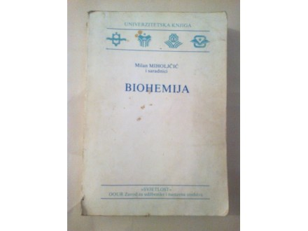 Biohemija - Milan Miholjčić