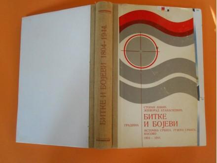 Bitke i bojevi Istočna,Južna Srbija,Kosovo 1804-1944.
