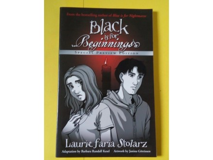 Black is for beginnings - Laurie Faria Stolarz