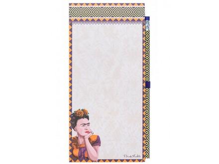 Blokčić sa magnetom i olovkom - Frida Kahlo - Frida Kahlo