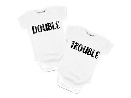 Bodi za bebe - Double Trouble, 9/12
