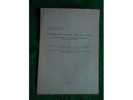 Bogišićev rad na p rad na proučavanju I.srpskog ustanka