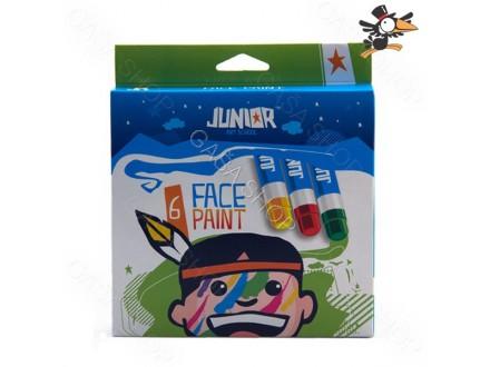 Boje za lice Junior 1/6 Art. 130650 - Novo