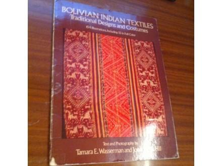 Bolivian indian textiles