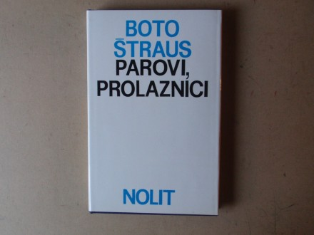 Boto Štraus - PAROVI PROLAZNICI
