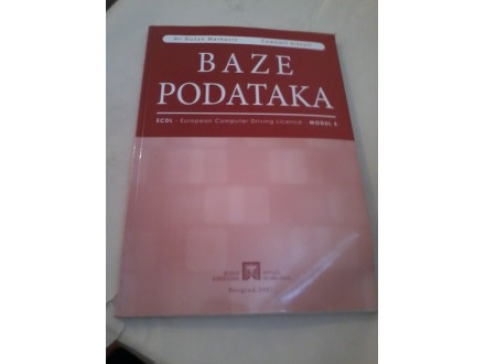 Boze podataka - Marković Višnjić ECDL modul 5