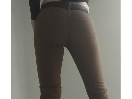 Braon Calliopi kafene pantalone skinny