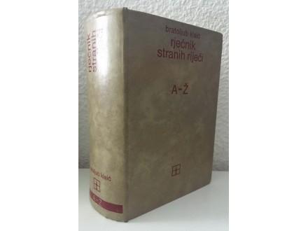 Bratoljub Klaić - Rječnik stranih riječi