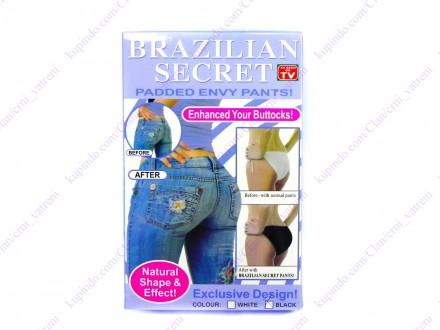 Brazilska tajna - push up gacice + BESPL DOST. ZA 3 ART