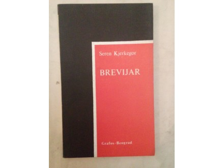 Brevijar - Seren Kjerkegor