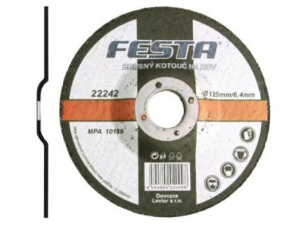 Brusna ploča za metal 115x6.4mm FESTA