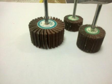 Brusni kolutovi sa metalnom drškom 10 kom