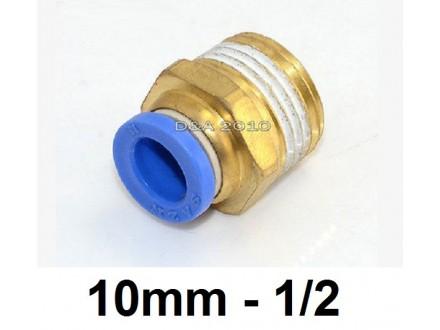 Brza spojnica za vazduh 10mm na 1/2 (približno 20mm)