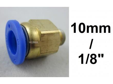 Brza spojnica za vazduh 10mm na 1/8 (približno 9.7mm)