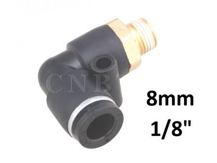 Brza spojnica za vazduh L 8mm na 1/8 (9.7mm) PL08-1/8