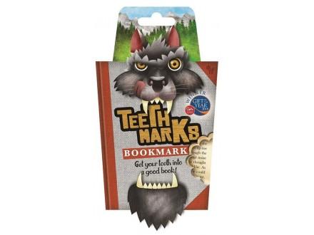 Bukmarker Teeth - Wolf