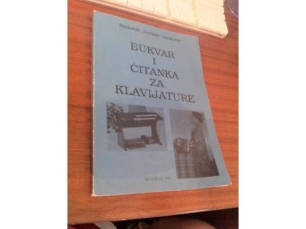 Bukvar i čitanka za klavijature Radomir Jovana Janković