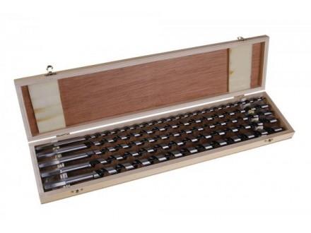 Burgije za drvo set 8-16mm LEVIOR