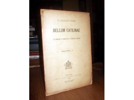 C. Sallusti Crispi BELLUM CATILINAE (Beograd, 1902)