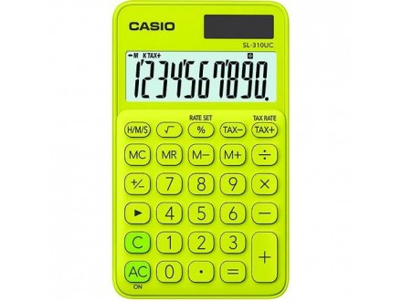 CASIO Kalkulator SL-310UC yellow