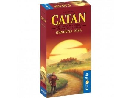 CATAN - Katan - dodatak za 5 i 6 igrača