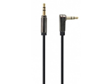CCAP-444L-6 Gembird 3.5mm stereo plug to 3.5mm stereo plug audio kabl pod uglom pozlaceni kon. 1,8m