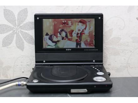 """CDV 7"""" portable DVD player / USB / DVB-T"""