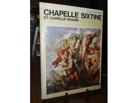 CHAPELLE SIXTINE - Deoclecio Redig De Campos
