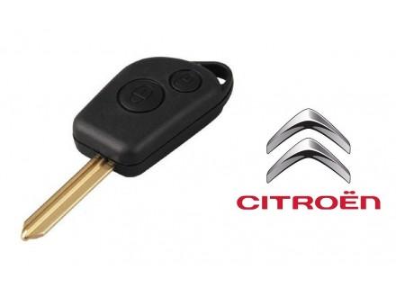 CITROEN kljuc sa dva dugmeta za Berlingo, Saxo, Xsara