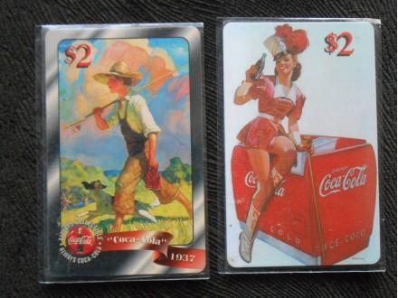 COCA COLA SPRINT  PHONE CARD 2.$  PROMOTION 2.kom