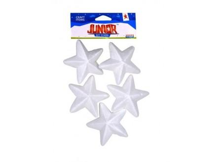 CREATIV craft stiropor zvezde 8cm 5kom 137732
