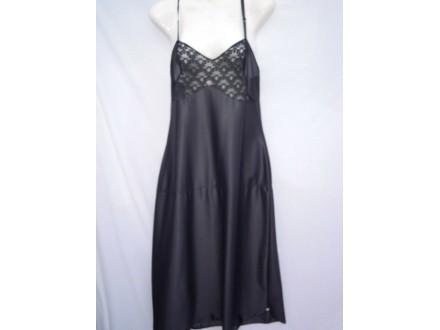 CRNI  KOMCINEZON  za  prozirne  haljine   42