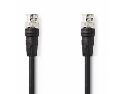 CVGP01000BK50 * BNC Video Cable, BNC Male - BNC Male, 5.0m Black (197)