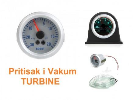 Cajger za pritisak i vakum turbine - sat merac - BOOST