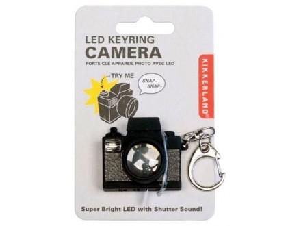 Camera Led Keychain - Kikkerland