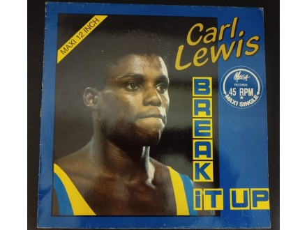 Carl Lewis - Break It Up Maxi Single(Denmark,1986)