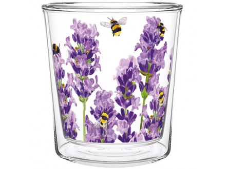 Čaša - Trend, Bees &; Lavender - Lavender