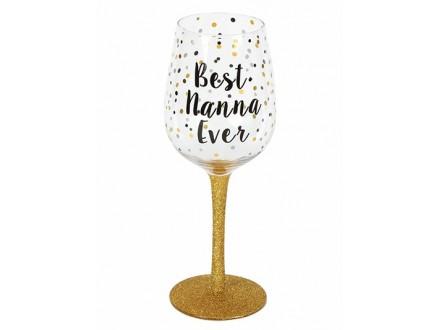 Čaša - Wine, Best Nanna Ever - Celebrations
