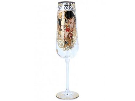 Čaša za šampanjac - Klimt, The Kiss